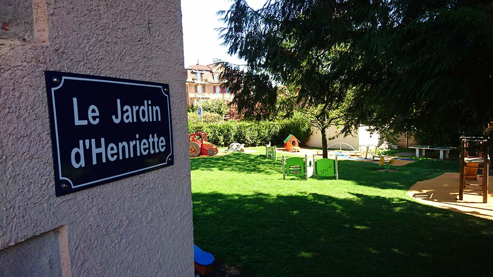 The garden of Henriette